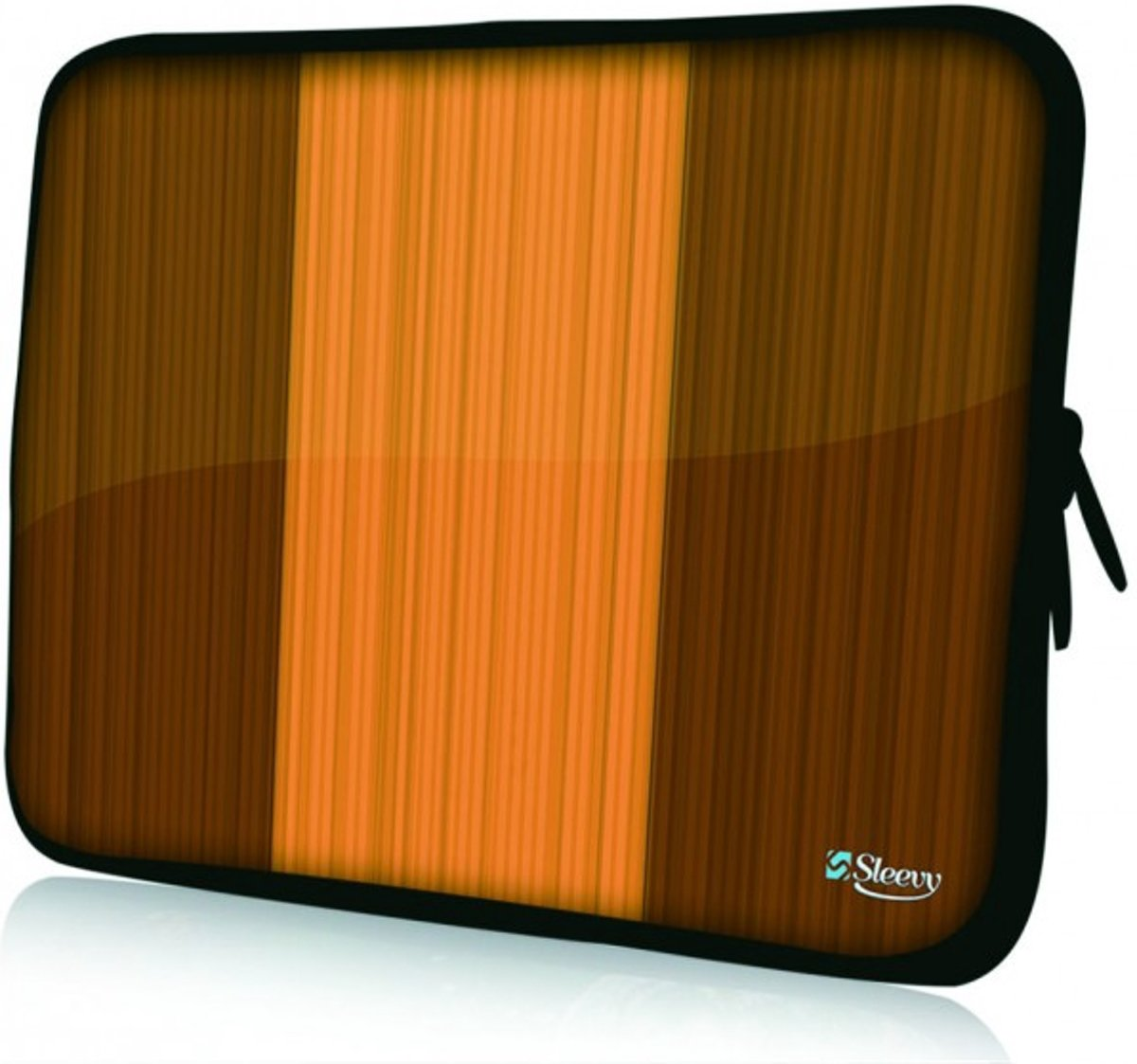 Sleevy 14 laptophoes houten design - laptop sleeve