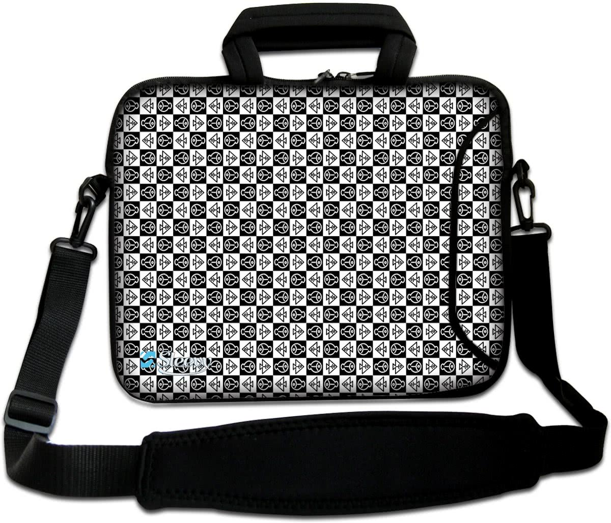 Sleevy 15,6  laptoptas symbolen