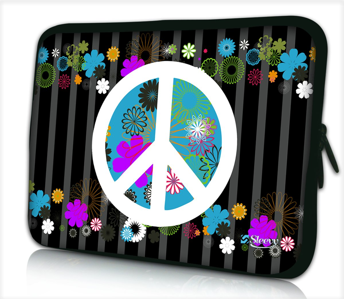 Tablet hoes / laptophoes 10,1 inch peace - Sleevy - Laptop sleeve - Macbook hoes - beschermhoes - tabletsleeve - tablet sleeve - ipad sleeve
