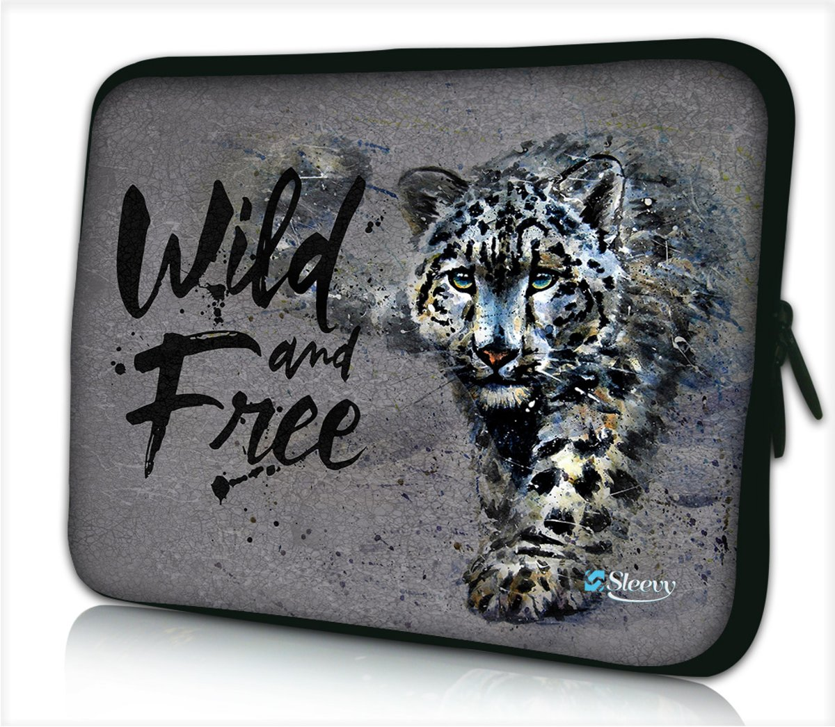 Tablet hoes / laptophoes 10,1 inch wild and free - Sleevy - laptop sleeve - tablet sleeve