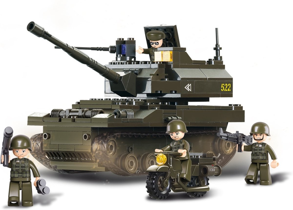 Armored corps Leopardtank M38-B9800