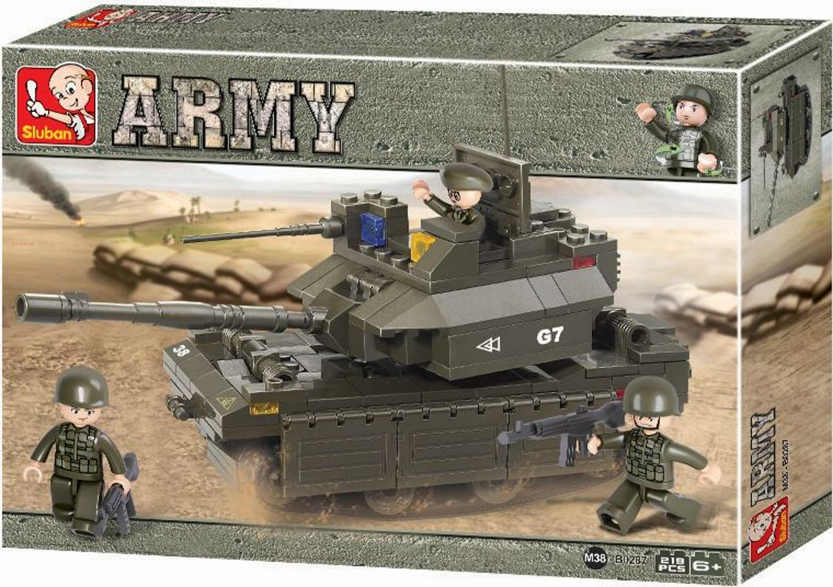 Sluban Army Tank