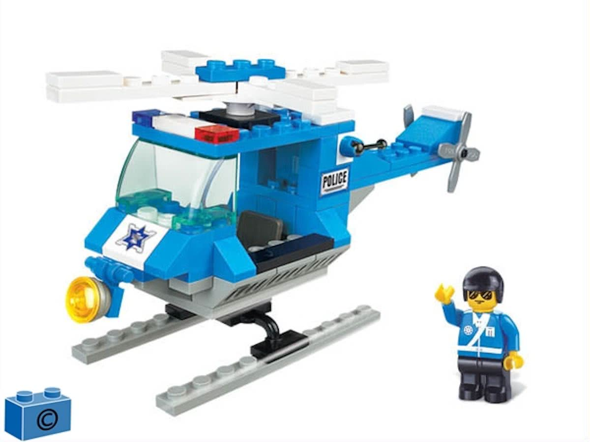 B0175 Town Police Helicopter