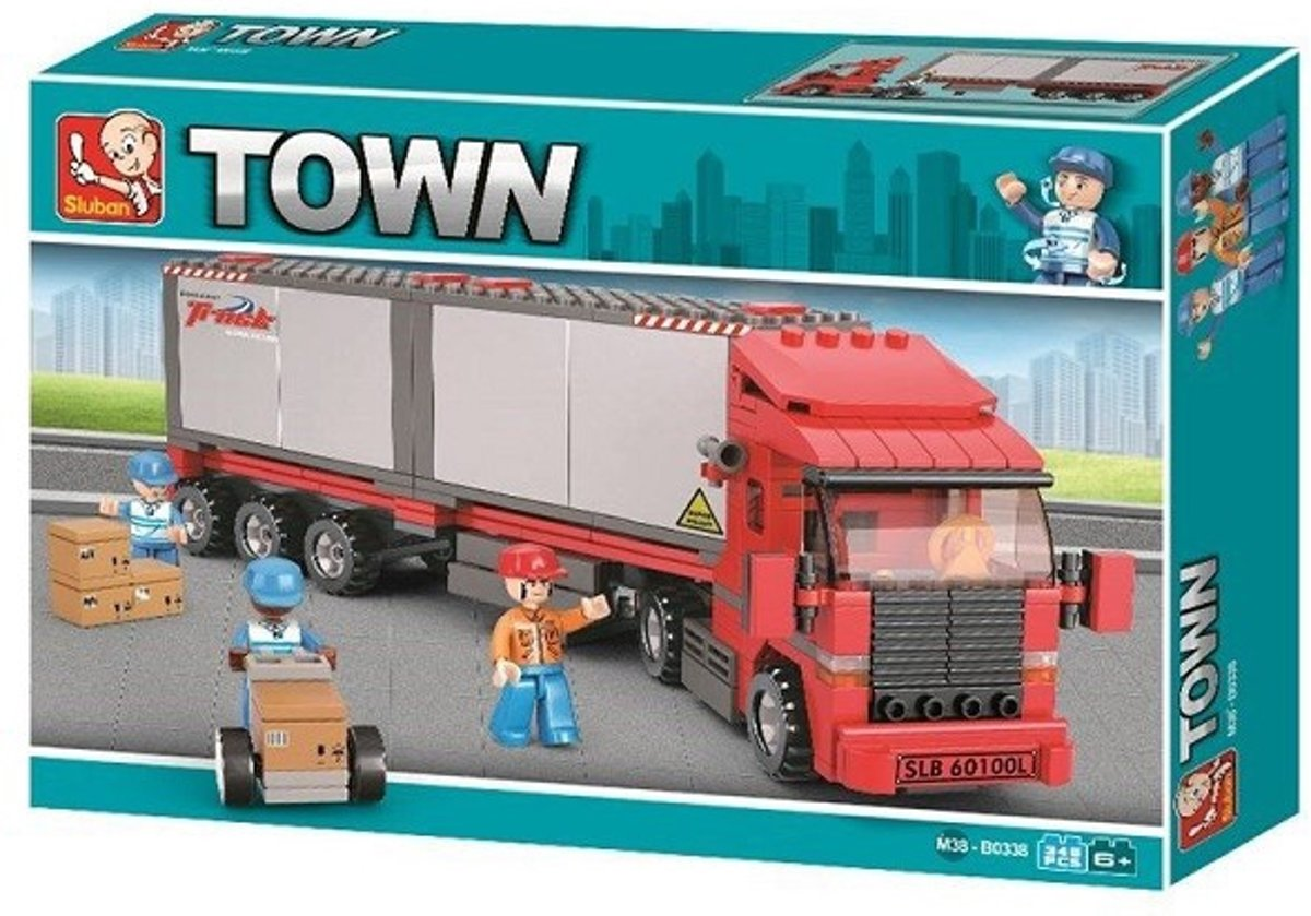 Sluban City Scene M38-B0338