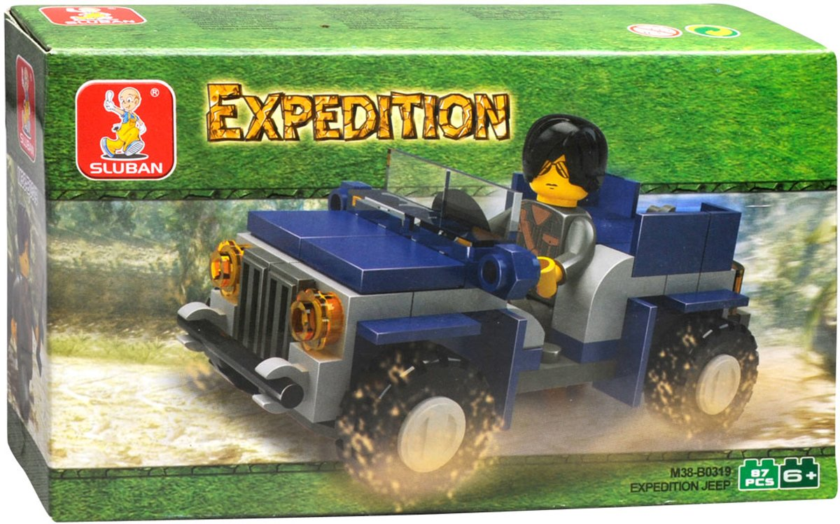 Sluban Expedition M38-B0319 Jeep
