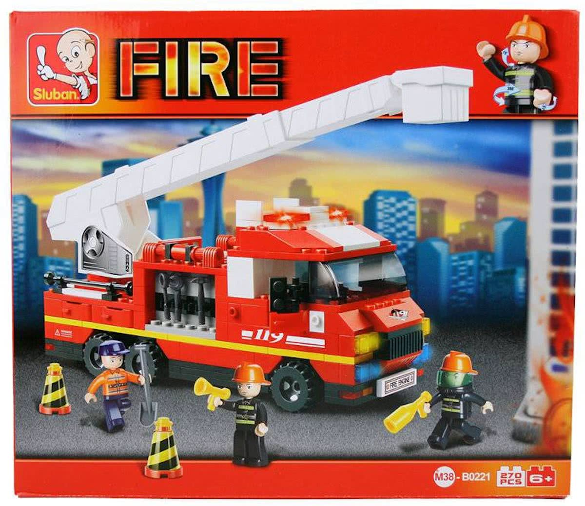 Sluban Fire - Ladderwagen M38-B0221