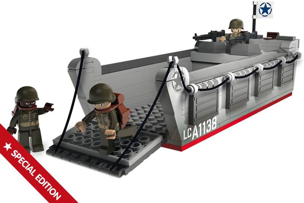 M38-70070 Bouwstenen WWII Operation Overlord Landing Craft