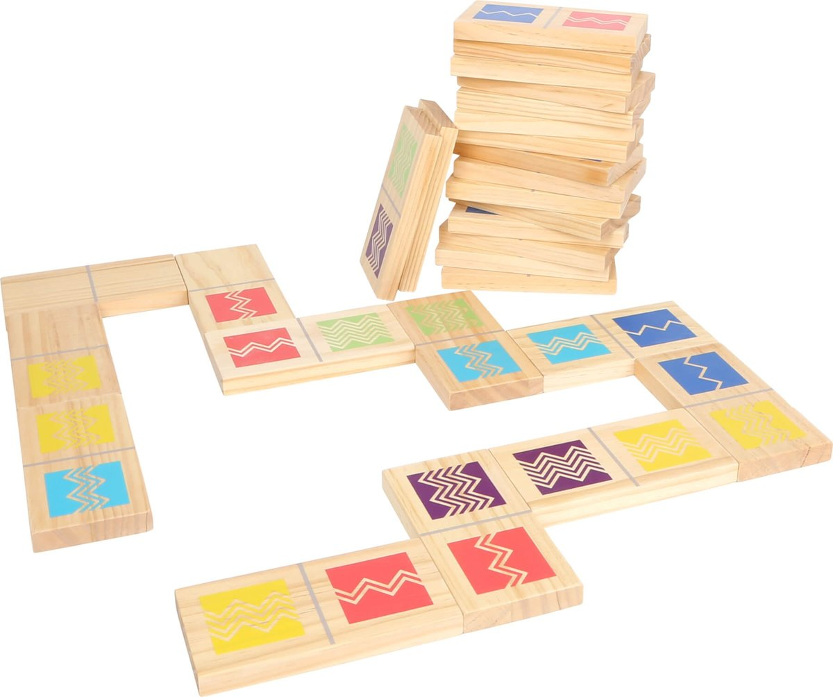 Small Foot Domino 28 Stenen Hout