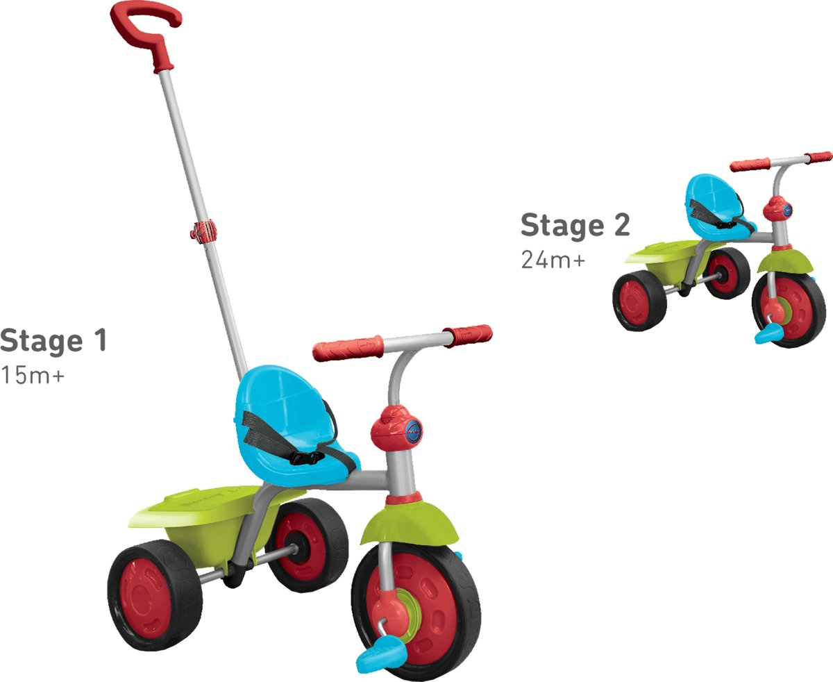 Smart Trike Fun - Driewieler - Groen