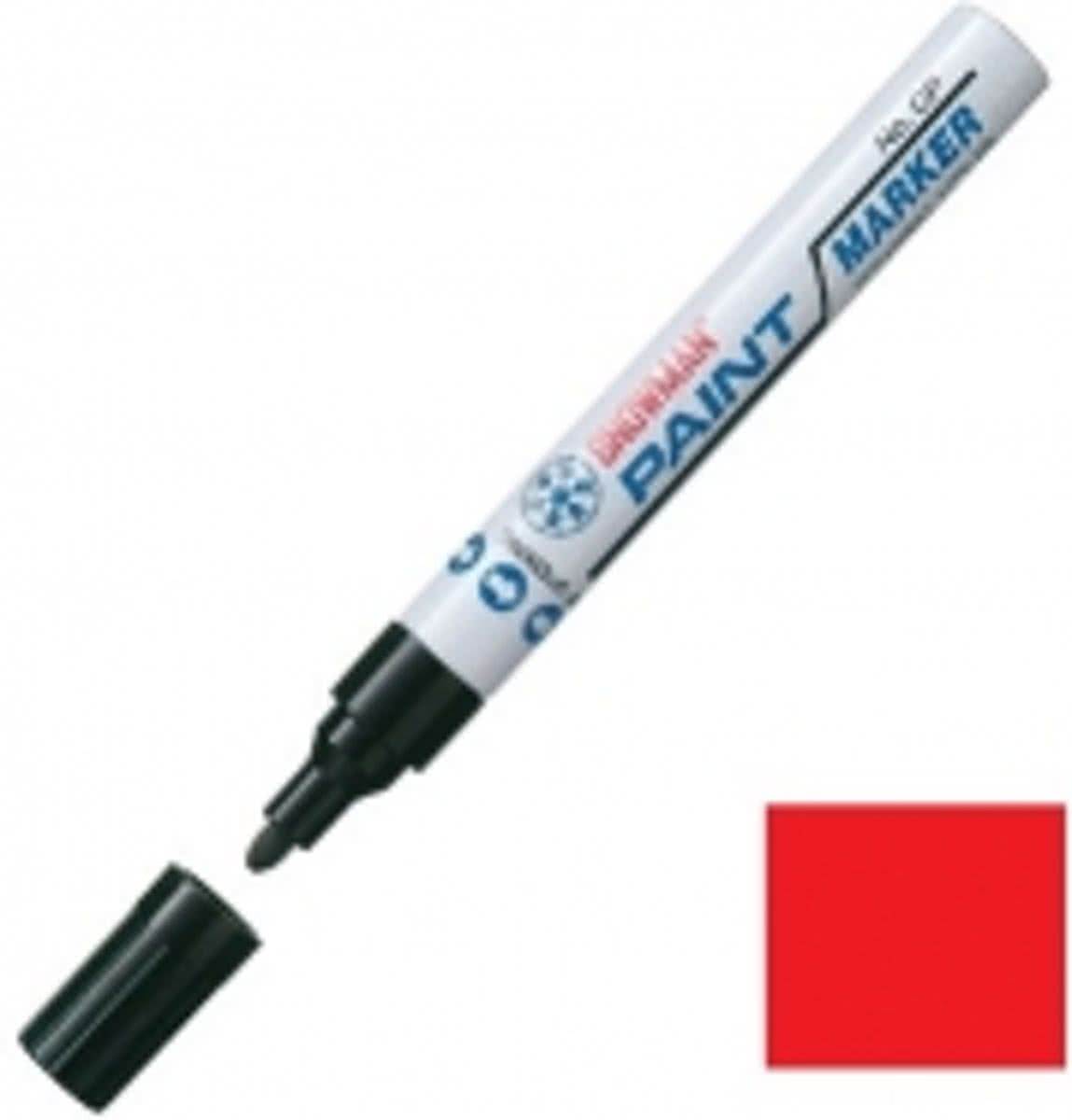 CP - paint marker - rood