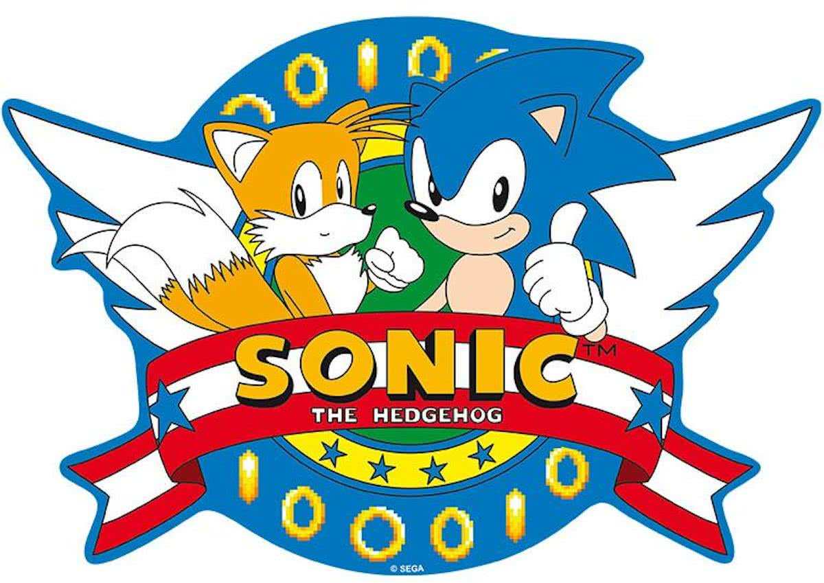 SONIC - Mousepad - Opening Logo - in shape