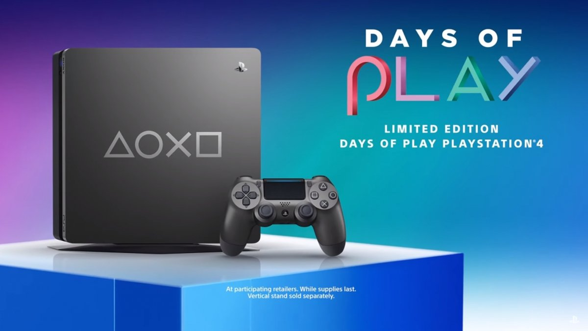 Sony Playstation 4 Slim 1TB Days of Play Special Edition