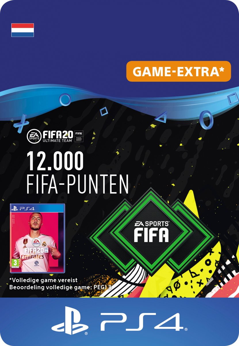 FIFA 20: Ultimate Team (FUT) - 12000 Points - PS4 download
