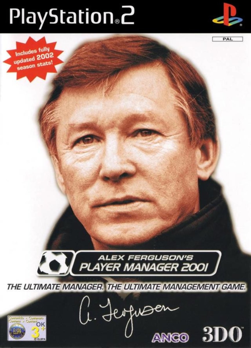 Alex Fergusons Player Manager 2001 /PS2