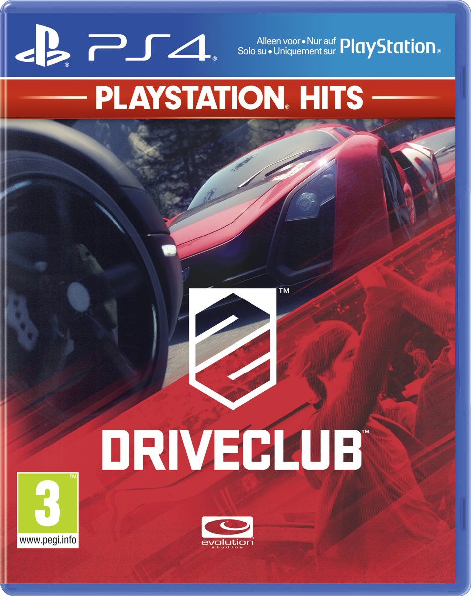 Driveclub - PS4 Hits