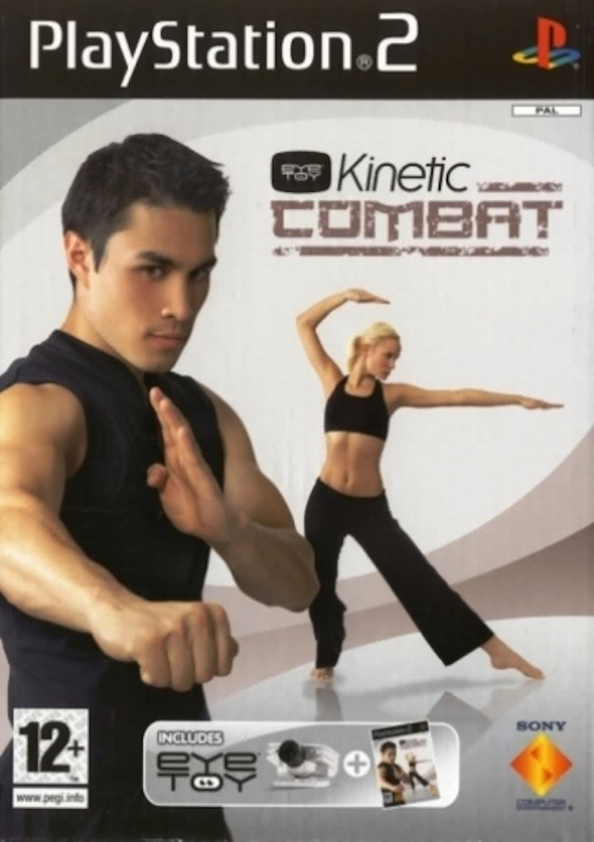 Eye Toy Kinetic - Combat & Camera