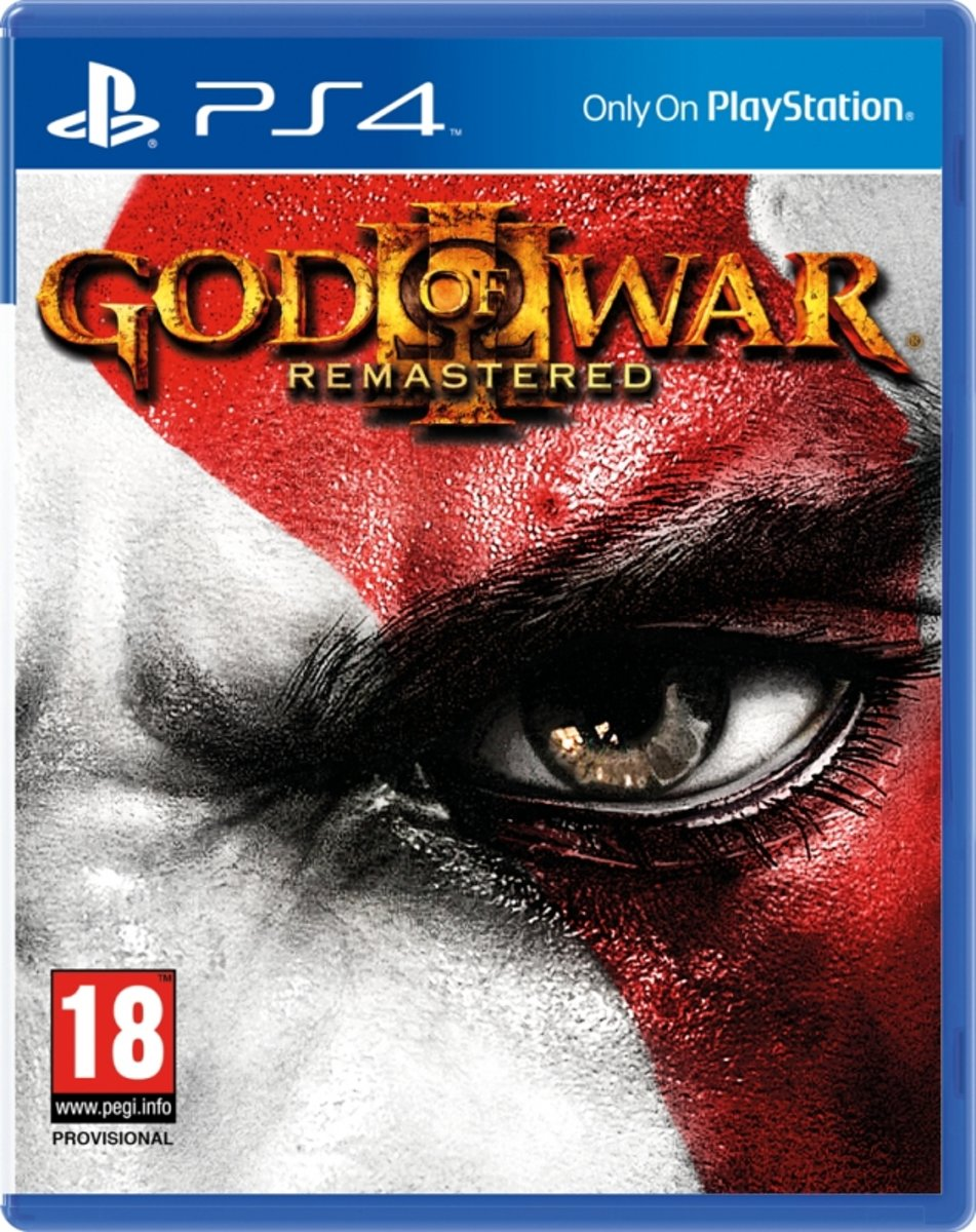 God of War III (3) Remastered / PS4 (Cover EN/FR/AR/PT)