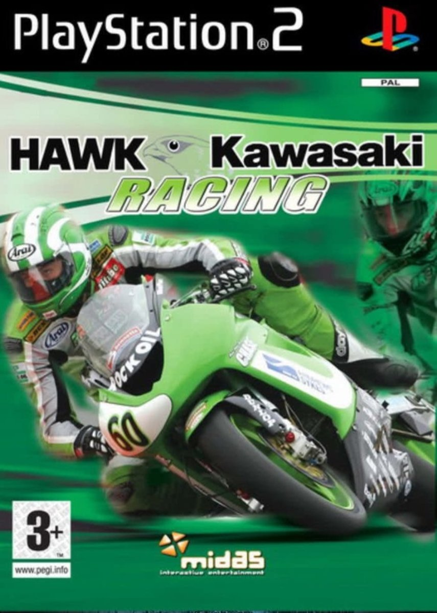 Hawk Kawasaki Racing /PS2
