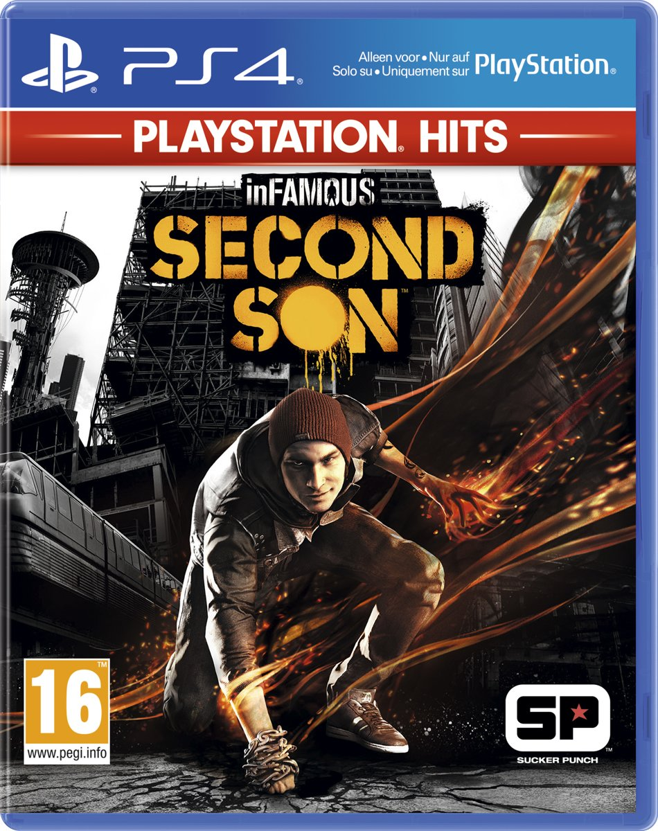 InFamous Second Son - PS4 Hits