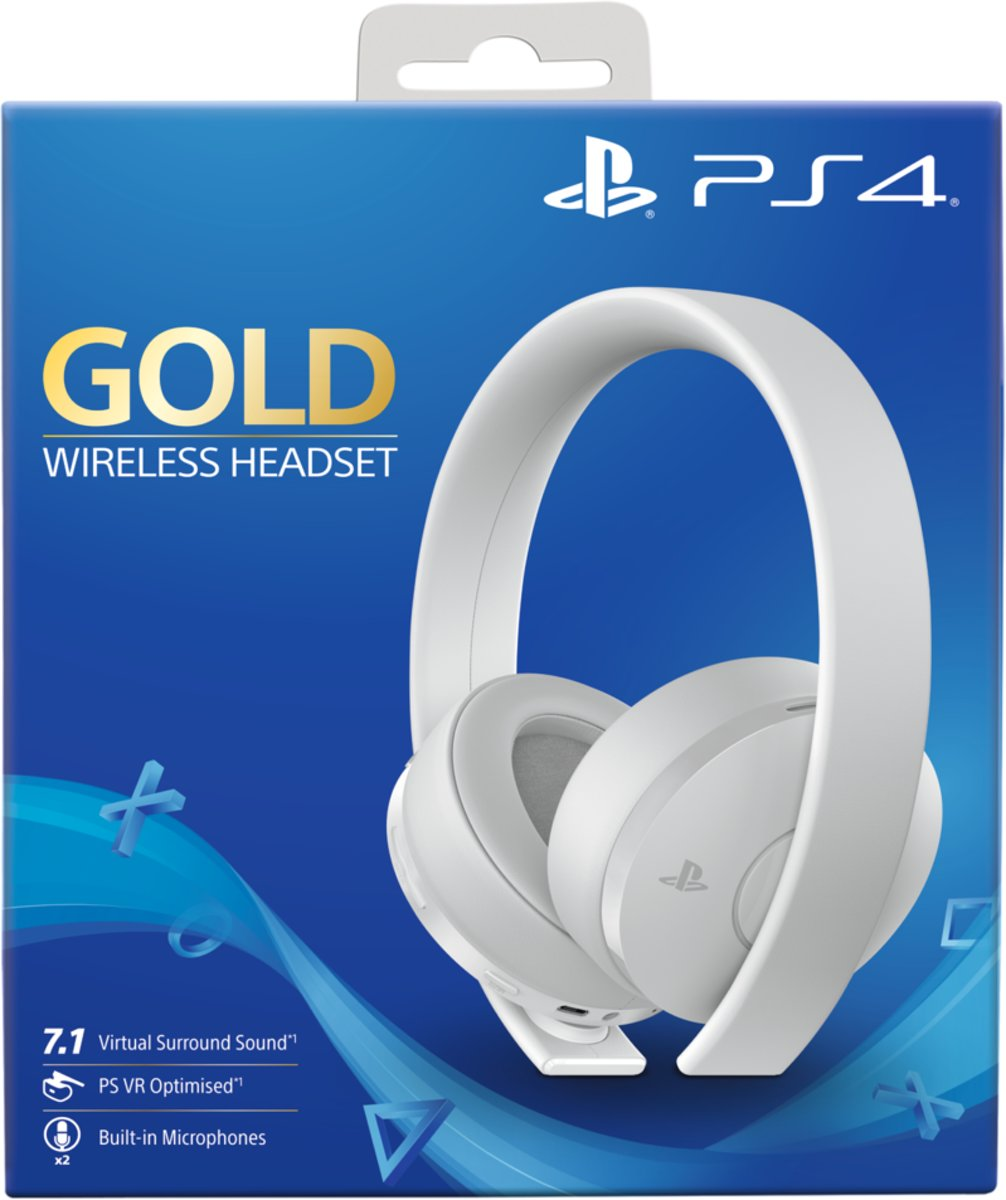 PS4 - Gold Edition Wireless Headset - Wit