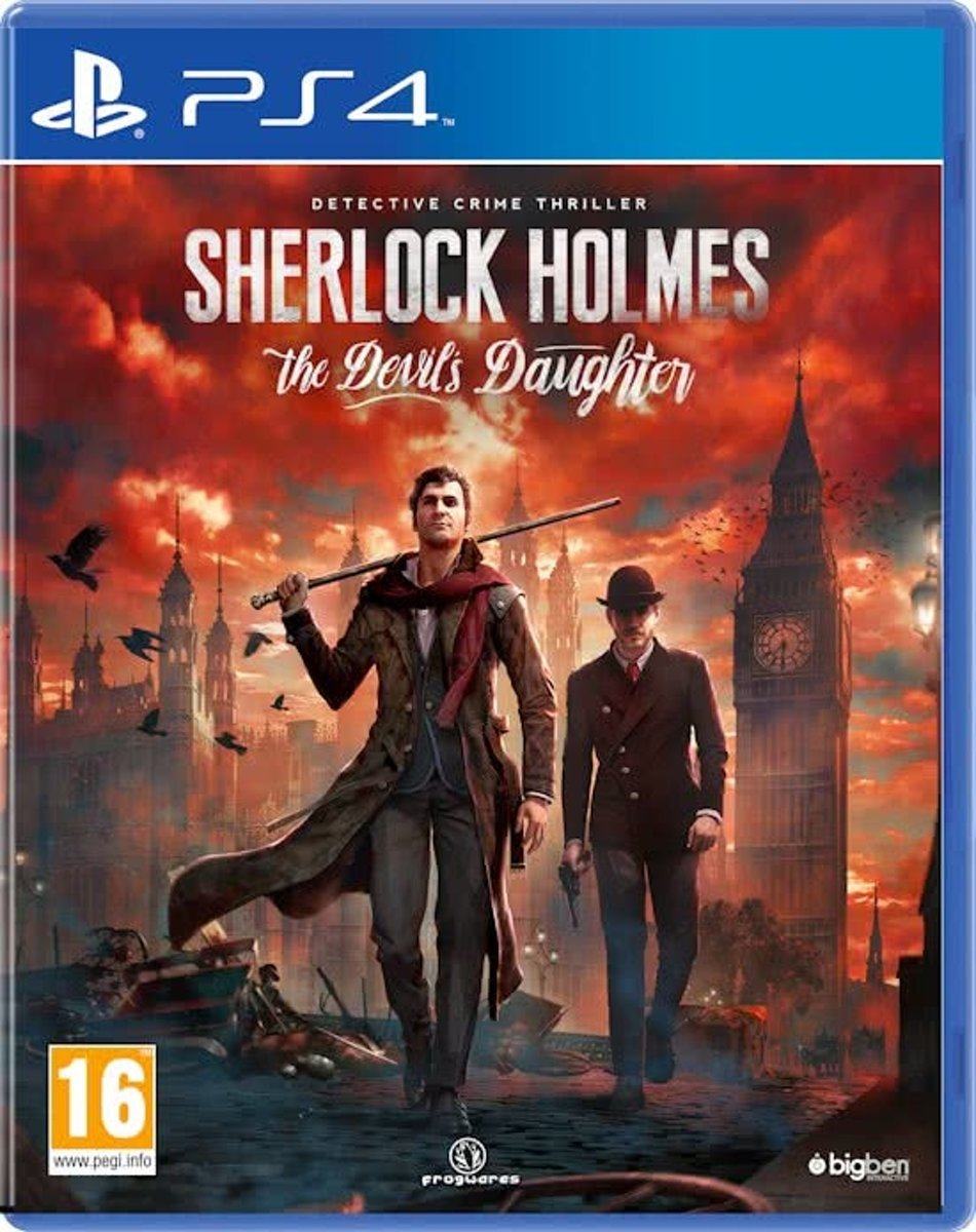 PS4 SHERLOCK HOLMES THE DEVILS DAUGHTER