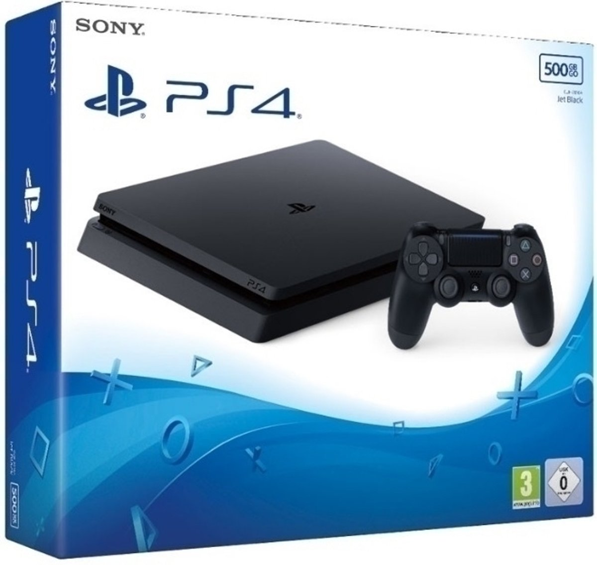 Playstation 4 Console 500GB (UK) /PS4