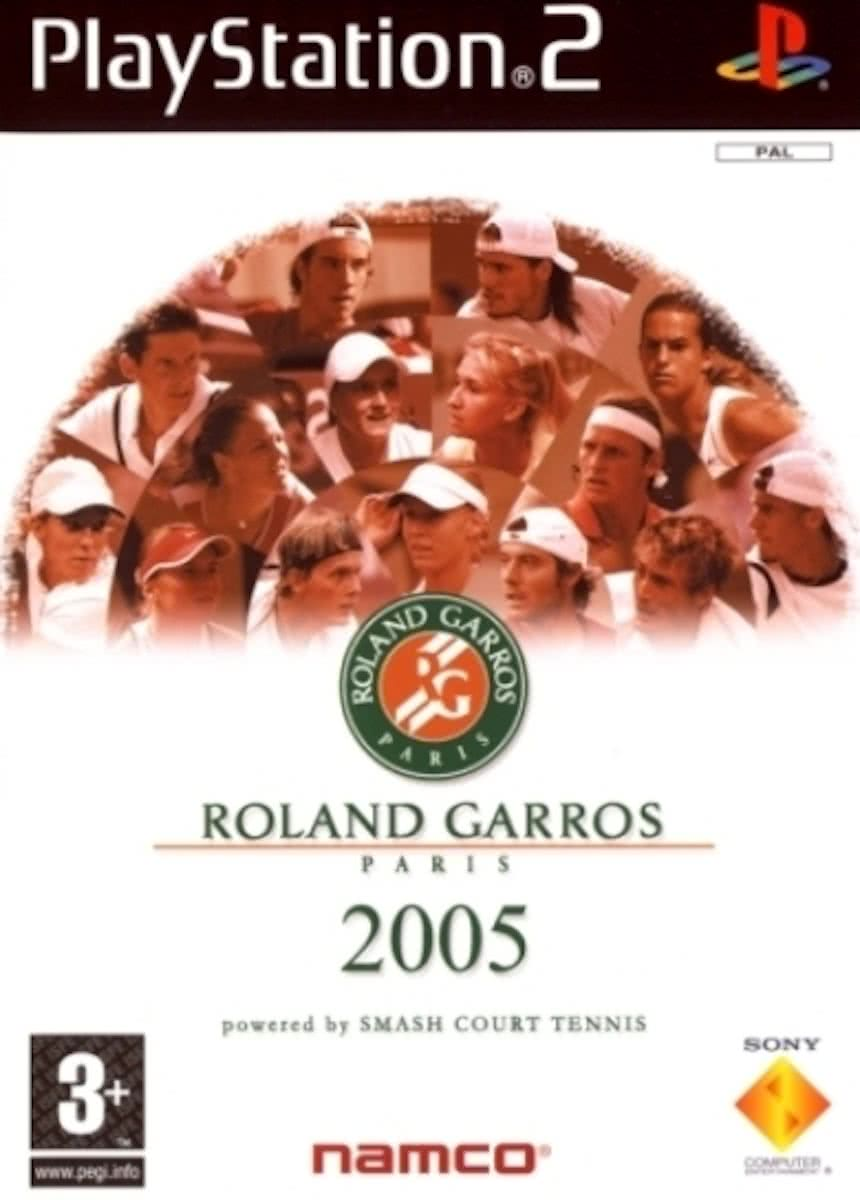 Roland Garros 2005: Powered by Smash Court Tennis