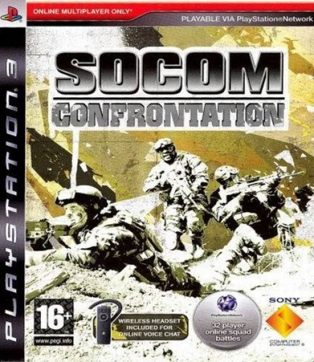 SOCOM Confrontation /PS3