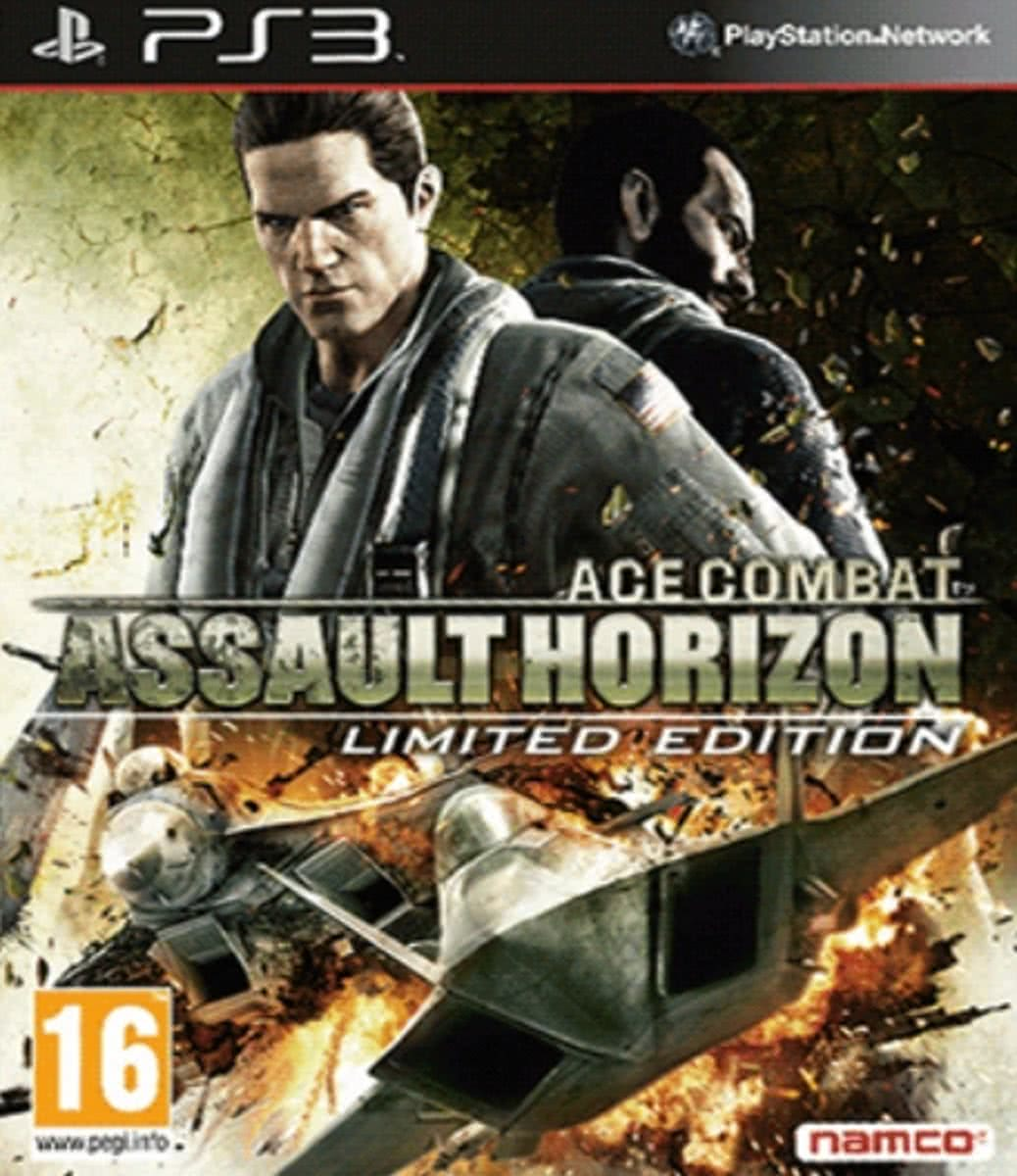 Sony Ace Combat: Assault Horizon Limited Edition, PS3 Basic + DLC PlayStation 3 video-game