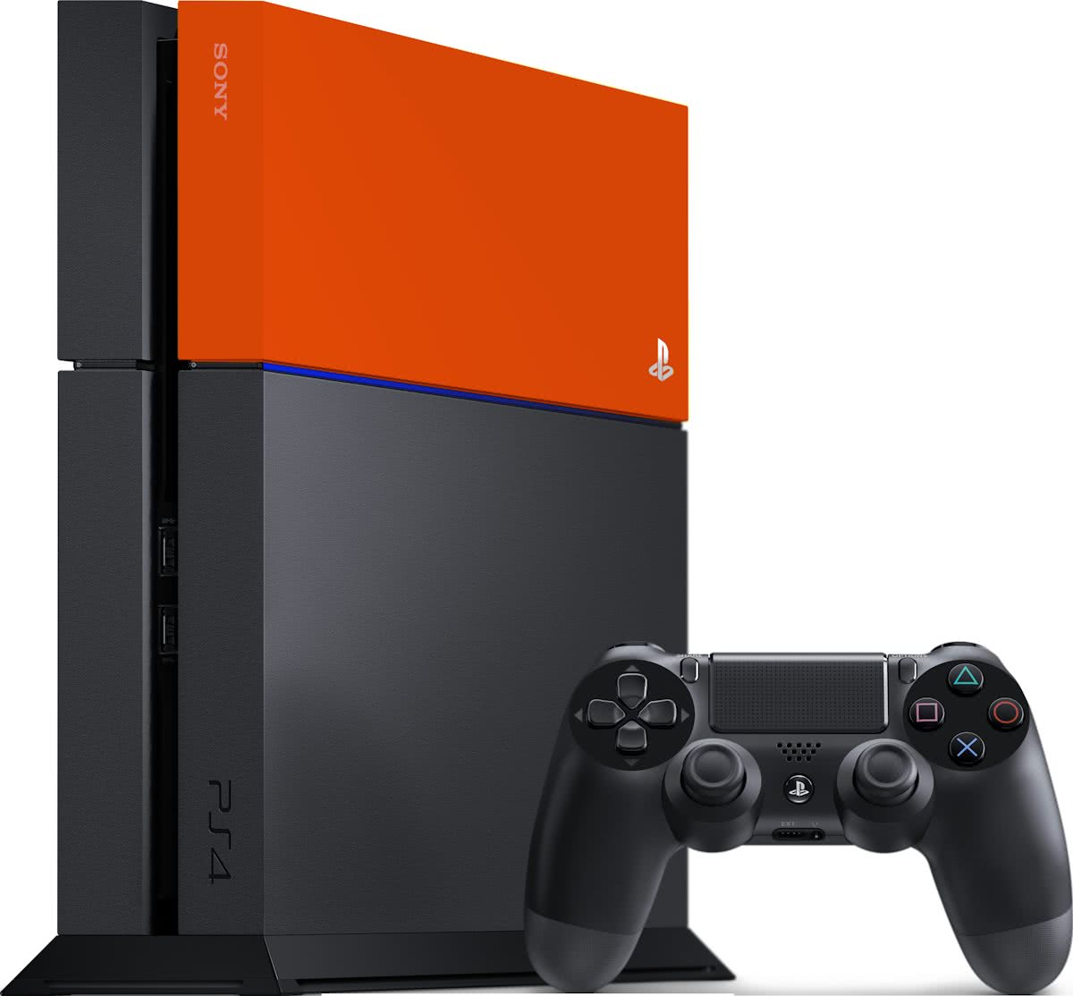 Sony PlayStation 4 Faceplate - Neon Orange - PS4