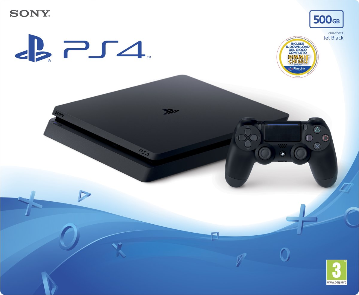 PlayStation 4 Slim + Thats You! 500GB Wi-Fi Zwart