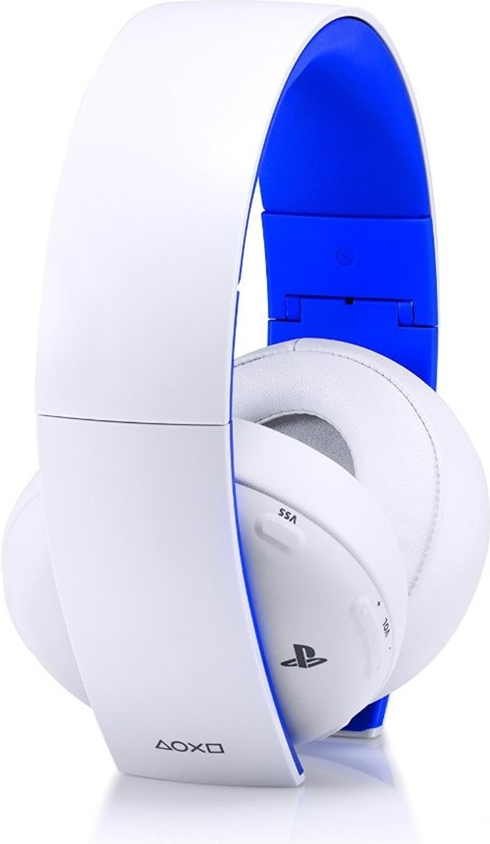 Sony PlayStation 4 Wireless 7.1 Virtueel Surround Gaming Headset 2.0 PS4 + PS3 + PS Vita + PC + MAC + Mobile - Wit