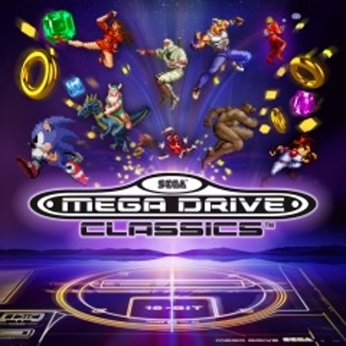 Sony Sega Mega Drive Classics, PS4 video-game PlayStation 4
