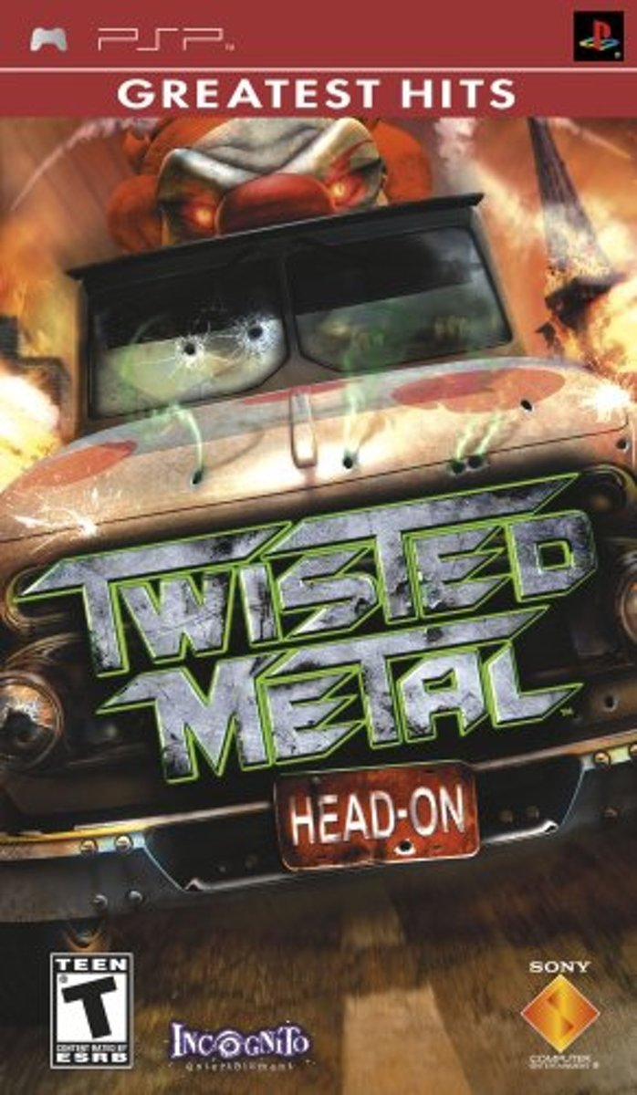 Twisted Metal: Head On, PSP