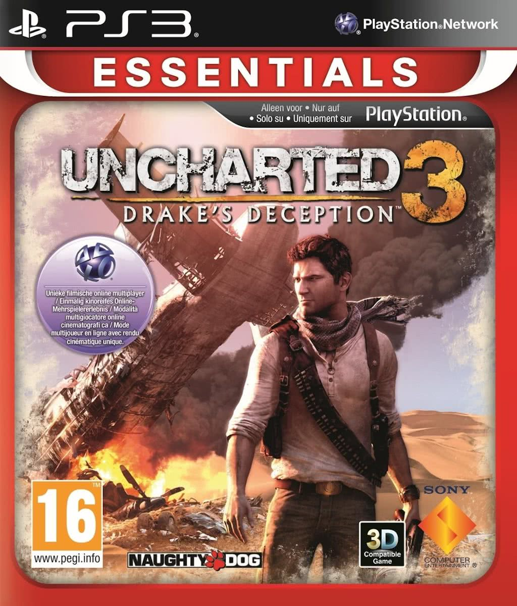 Uncharted 3: Drakes Deception - Essentials Edition