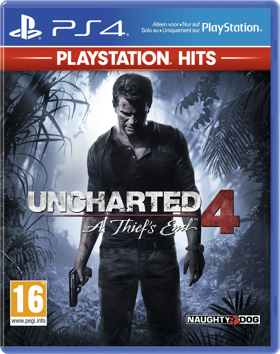 Uncharted 4: A Thiefs End - PS4 Hits