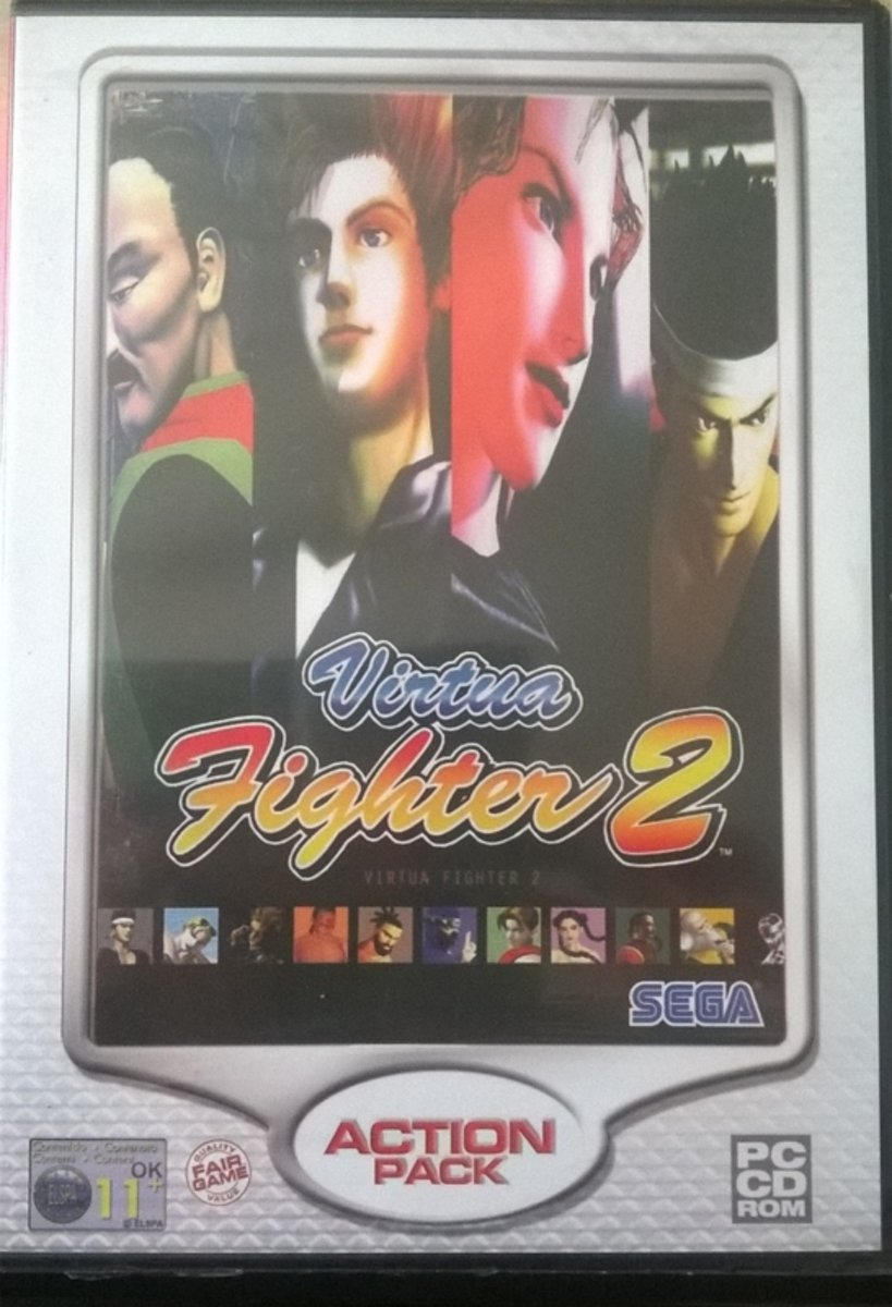 Virtua Fighter 2 action pack