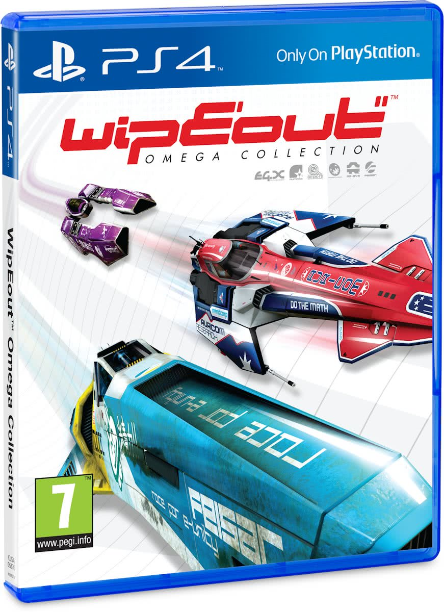 Wipe out Omega Collection - PS4