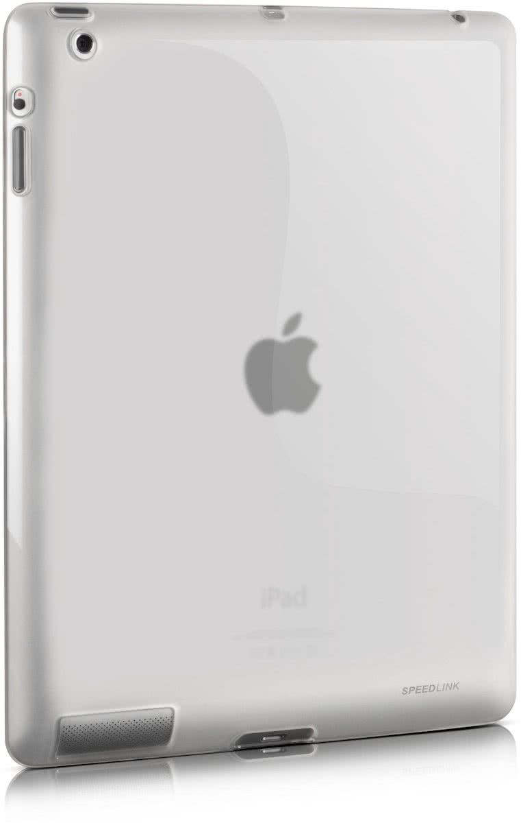 , CURB Soft Protector Case for iPad 3 / 4 (Frosted / Clear)