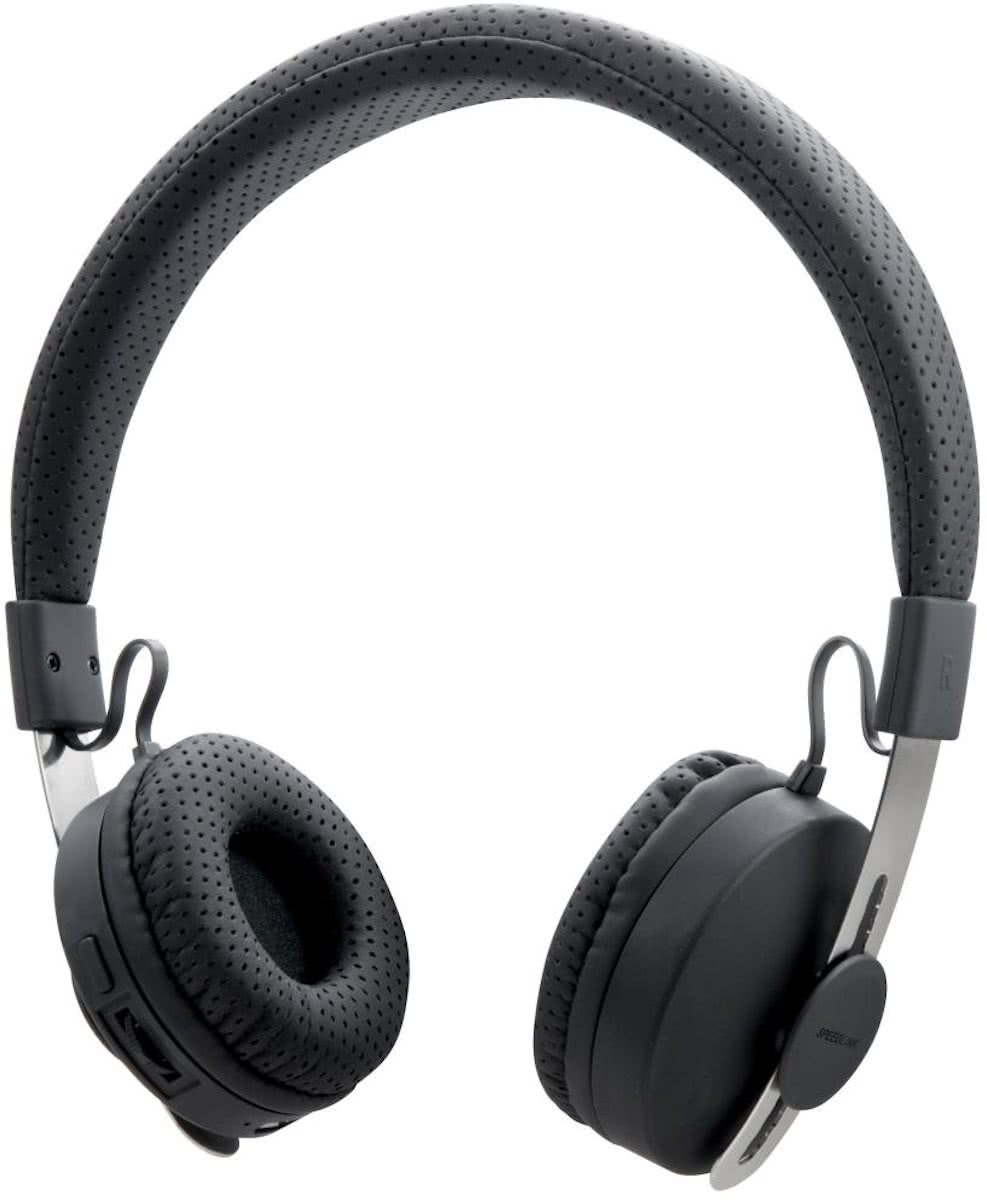 Speedlink, TRACTS Bluetooth Wireless Stereo Headset (Zwart)