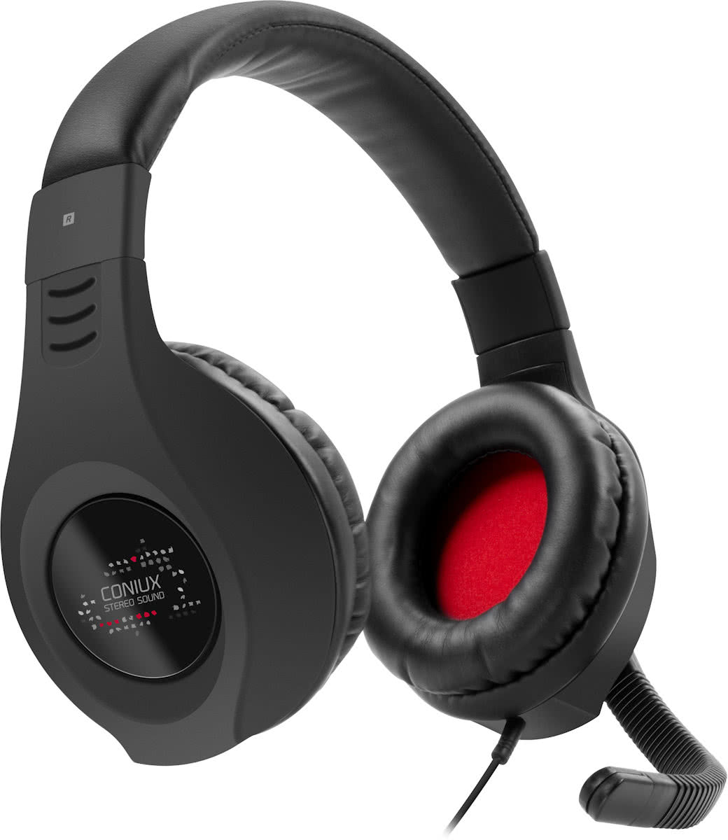 Speedlink CONIUX - Wired Stereo Gaming Headset - Zwart - PS4