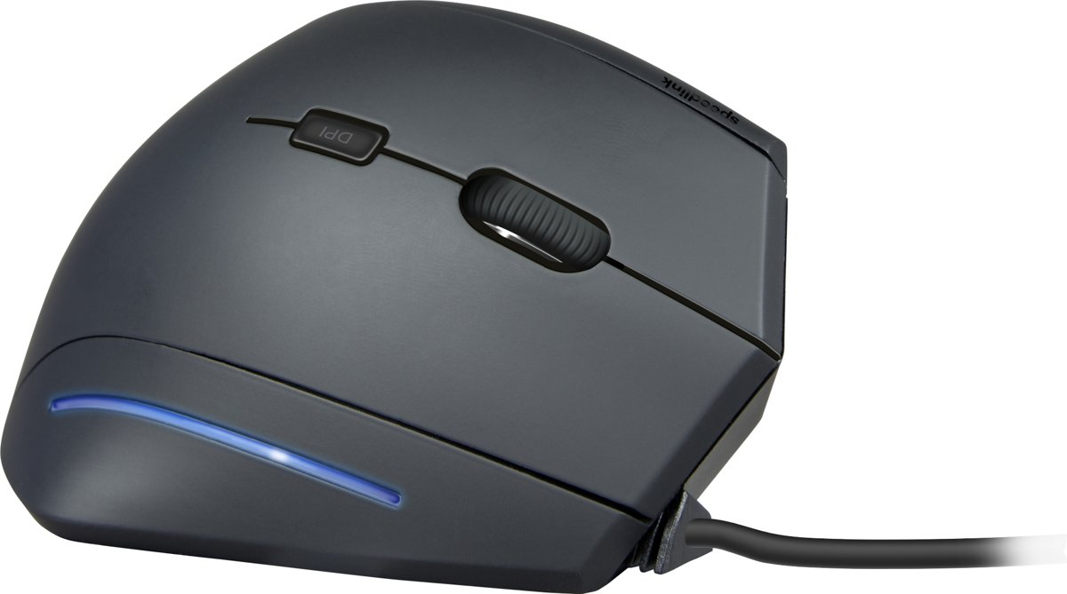Speedlink MANEJO - Ergonomic Vertical USB Mouse - Zwart