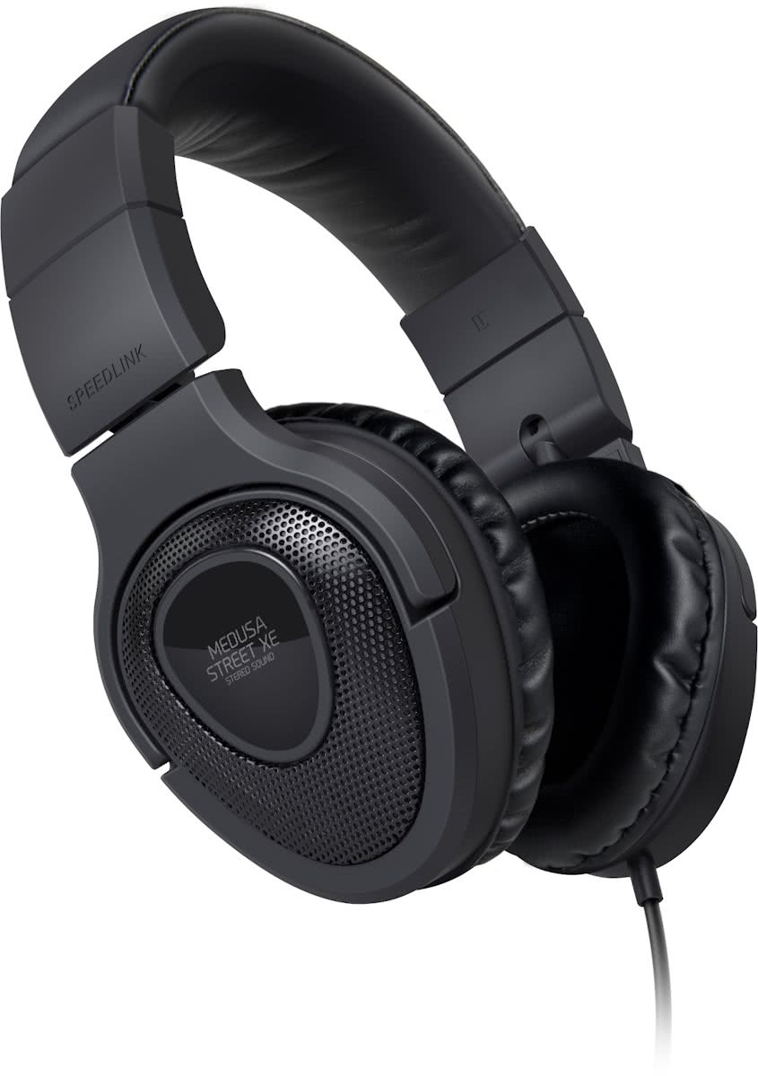 Medusa Street XE Gaming Headset - Zwart - PC + iOs + Android