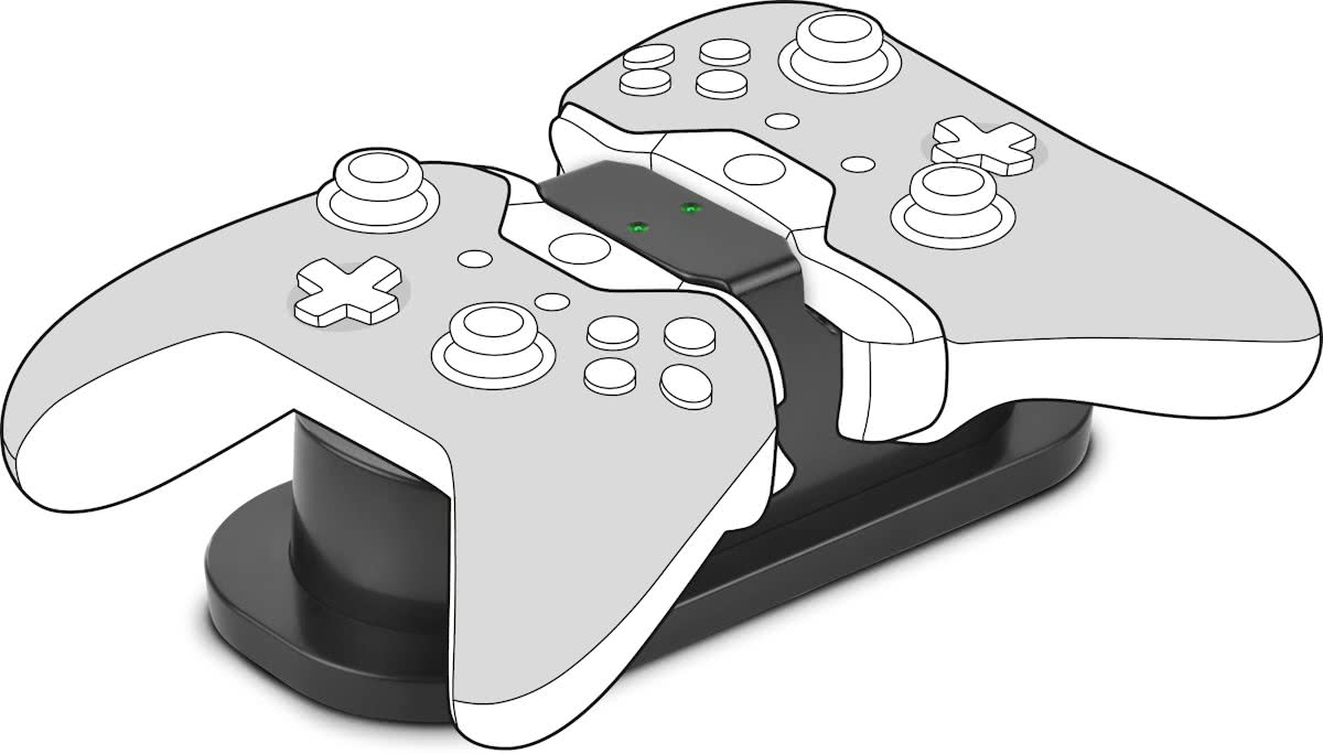 TWINDOCK - Docking Station - USB Dual Charger - Xbox One