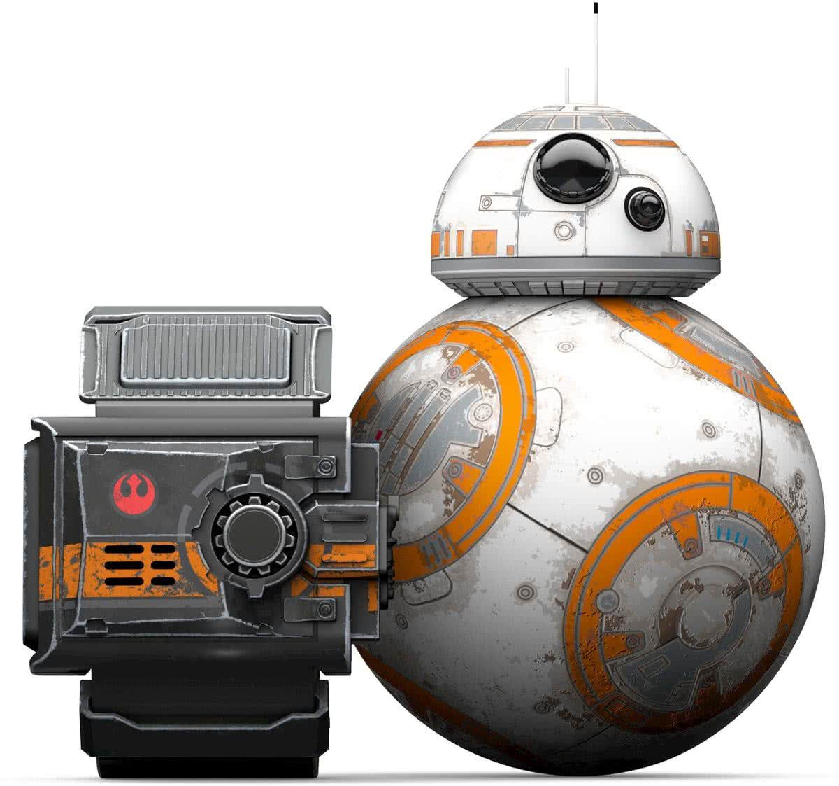 Star Wars Special Edition Battle-Worn BB-8 with Force Band Robot
