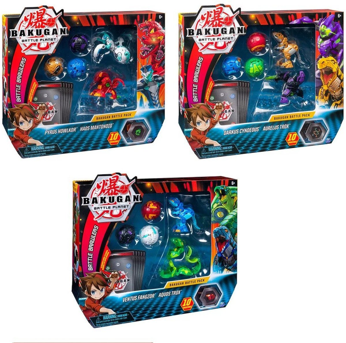 Bakugan Battle Pack Assorti