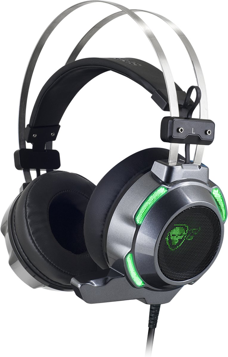 Spirit of Gamer - Elite-H30 PC Gaming Headset - Groen