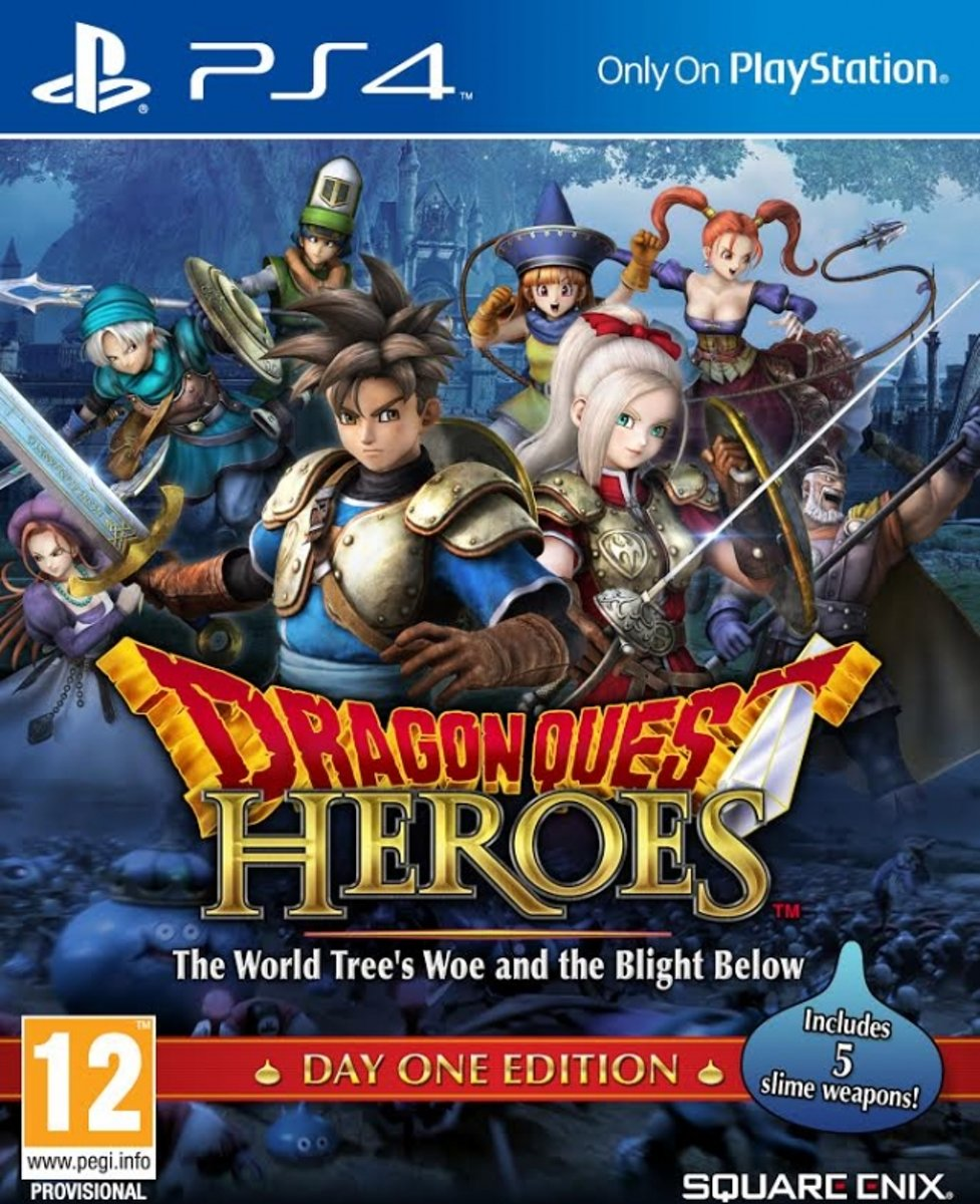 Dragon Quest Heroes /PS4