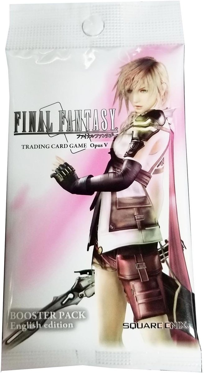Final Fantasy 3 Booster Pakjes Opus 5 Booster