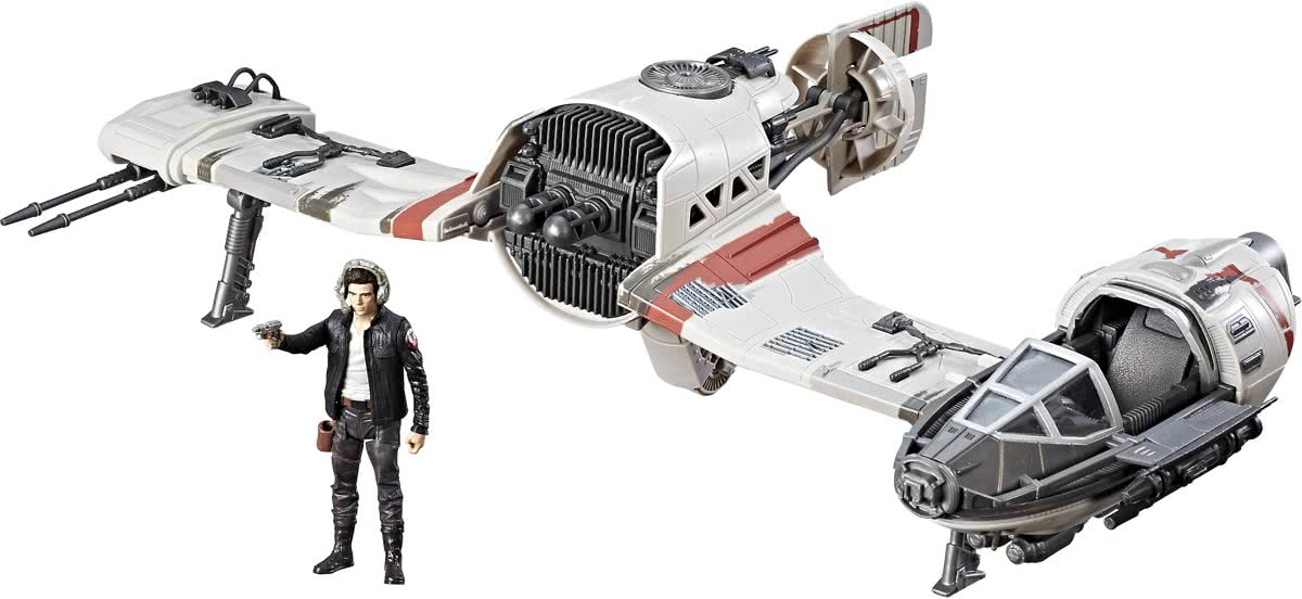 Star Wars Force Link Resistance Ski Speeder & Captain Poe Dameron - Speelfiguren